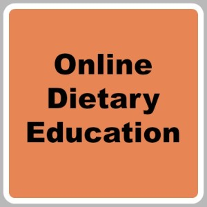 Online Dietary Education